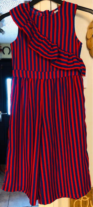 Immaculate Girls 7 Years TU Kids Party Striped