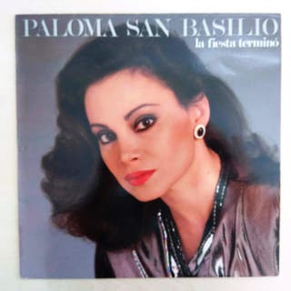 DISCO VINILO PALOMA S. BASILIO - LA FIESTA TERMINÓ