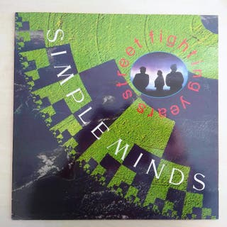 DISCO VINILO SIMPLE MINDS STREET FIGHTING YEARS