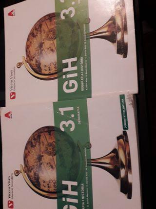 libros de secundaria geografía y historia