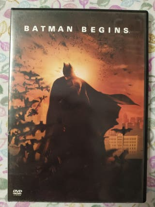 Batman Begins - DVD Cine