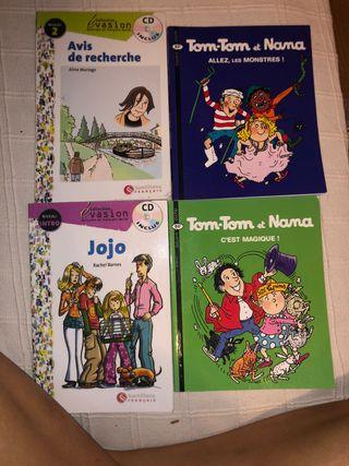 Libros cortos de lectura Frances