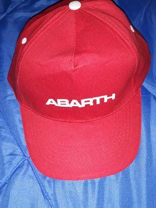 Gorra Abarth
