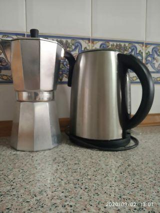 Cafetera nueva + Hervidor de 2da mano