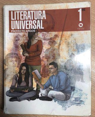 Libro literatura universal primero de bachillerato