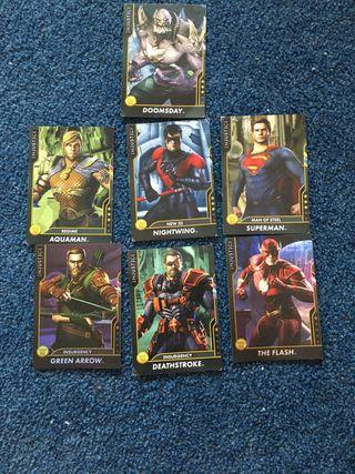 Rare marvel cards