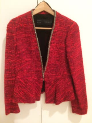 Chaqueta de lana Chanel corte peplum