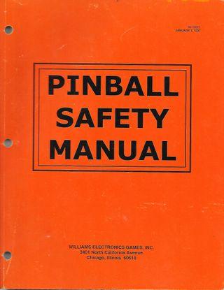 Manual técnico PINBALL SAFETY