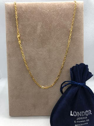cadena oro de 18 k 8,76gr.