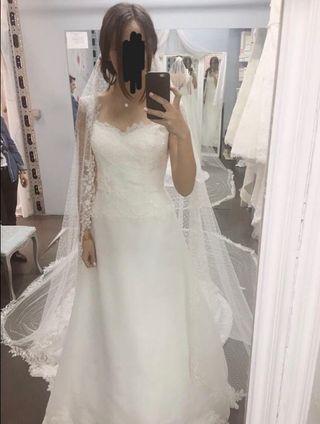 Vestido de Novia, el Velo