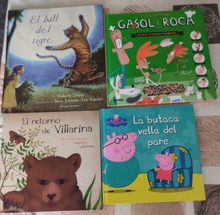 lote de 4 cuentos infantiles