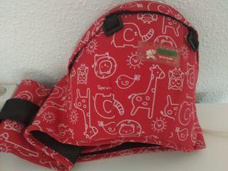 Cinturón para llevar al bebe
