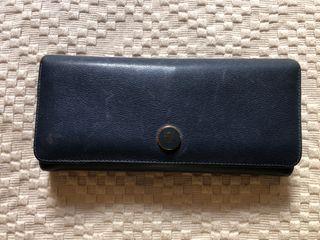 Cartera billetera Loewe original azul