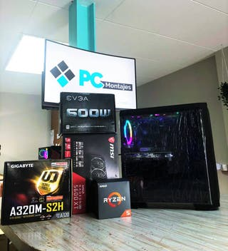 Pc gaming ryzen 5 2600X, 16GB y RX 5600XT 8GB