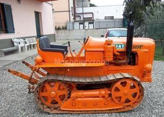 tractor de cadenas Fiat no es el de la foto