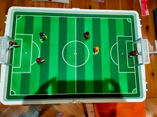 Futbolín de mesa Playmobil