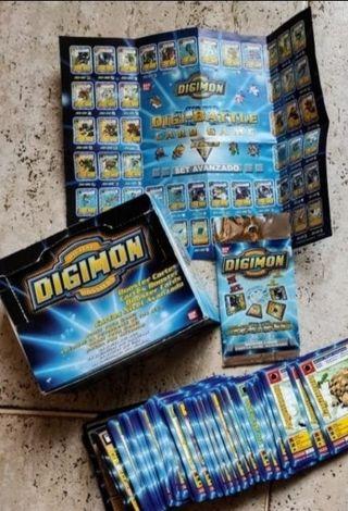 CARTAS DIGIMON juego de cartas tcg