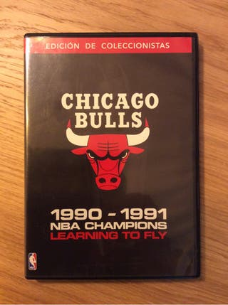 "DVD Chicago Bulls ""learning to fly"" 1990-1991"