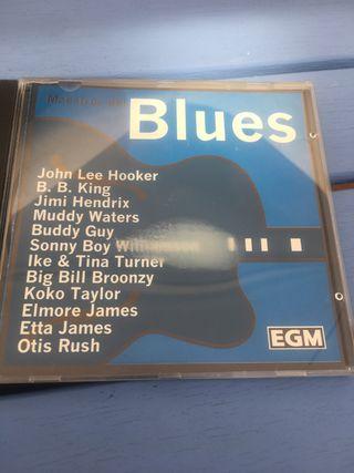 CD MAESTROS DEL BLUES