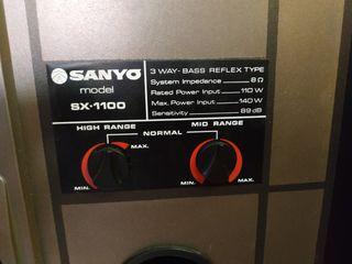 altavoces Sanyo sx-1100