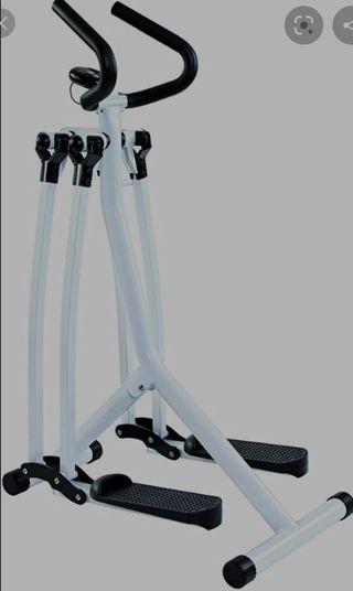 Bicicleta Elíptica plegable Air Walker Vitalmaxx