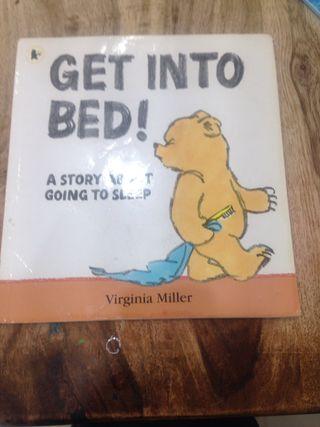 Get in bed bear
