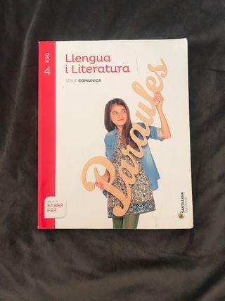 Llengua i literatura 4 ESOSantillana