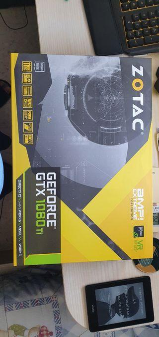 Tarjeta gráfica Nvidia Zotac GTX 1080 Ti
