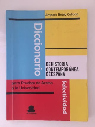 Diccionario de historia contemporánea de España