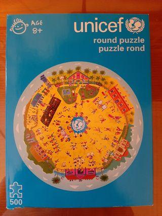 Puzzle circular de 500 piezas
