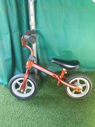 Bicicleta de aprendizaje sin pedales