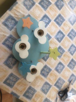 Lámpara habitación infantil