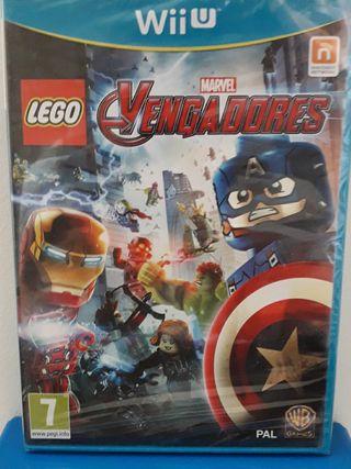 LEGO VENGADORES WII U PRECINTADO