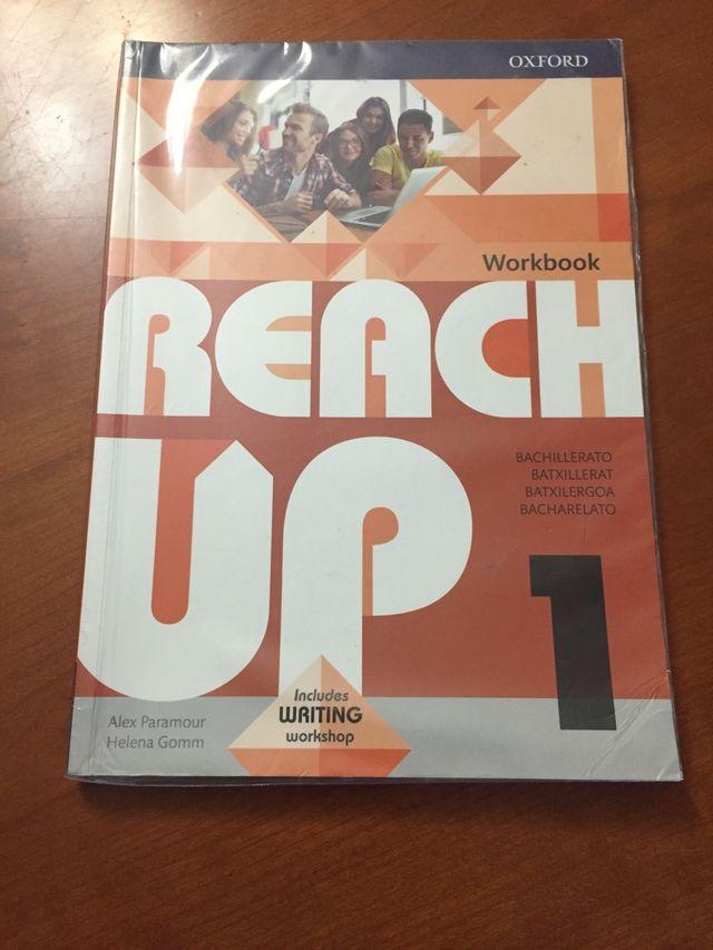 Libro ingles Reach Up primero de bachillerato