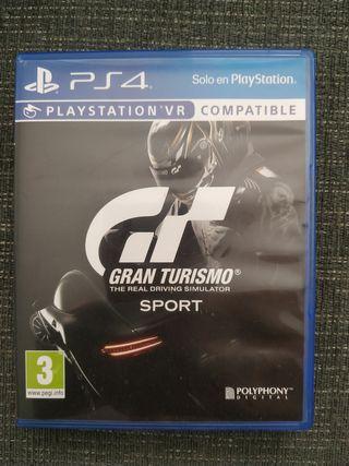 Gran turismo Sport Ps4 compatible VR