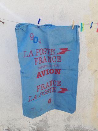 Antiguo saco de correos de Francia