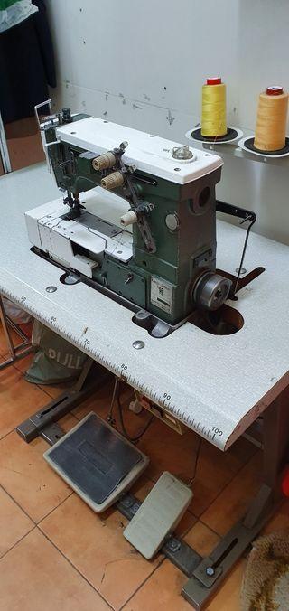 máquina de coser recubridora