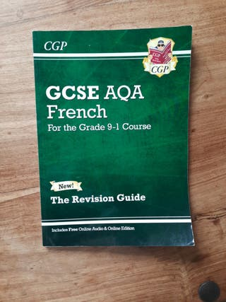 French GCSE textbook with online edition