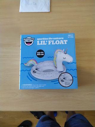 Flotador unicornio infantil