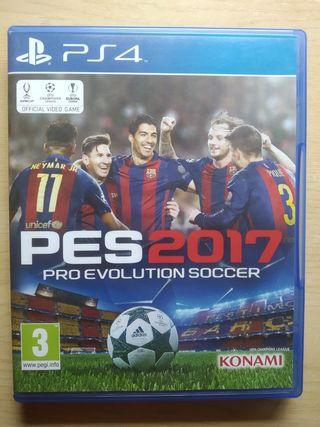 Pro Evolution Soccer 2017 (PES 2017) PS4