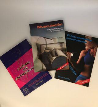 Libros de entrenamiento y musculación Ramon Lacaba