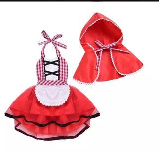 disfraz Caperucita Roja niña bebé nuevo princesa