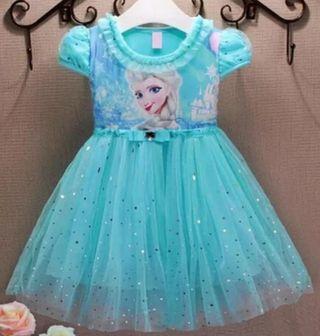 vestido niña bebé nuevo Frozen disfraz 2/3 años