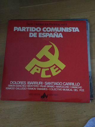 Disco/Vinilo Partido Comunista España