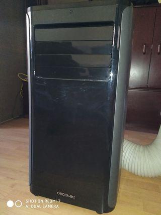 Aire acondicionado y calefactor portatil