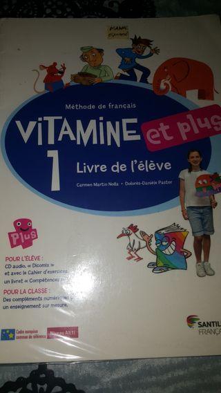 Libro Francés 6° de primaria Livre de l'élève.