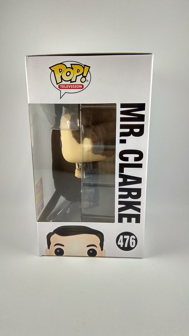 Funko pop Mr Clarke