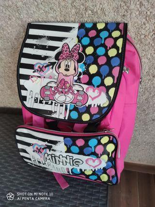 mochila para primaria muy amplia