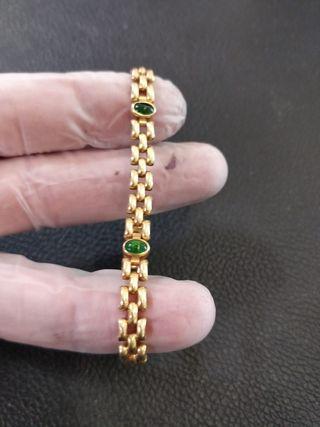 pulsera de oro de 18 de mujer
