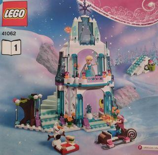 El brillante castillo de hielo de Elsa (Frozen)